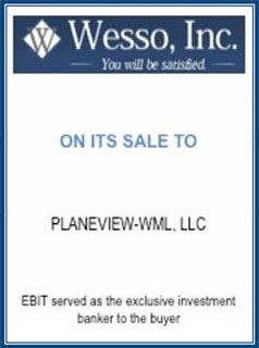 EBIT Associates - Sell My Business - Wesso Inc.