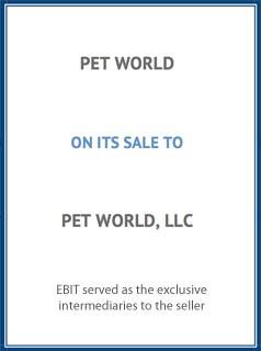 EBIT Associates - Sell My Business - Petworld