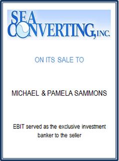 EBIT Associates - Sell My Business - Sea Converting Inc.