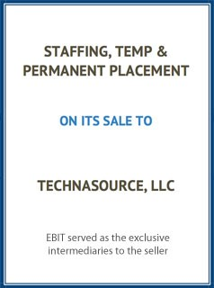 EBIT Associates - Sell My Business - Staffing Temp Permanent Placement