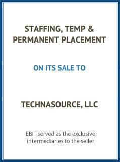 EBIT Associates - Sell My Business - Staffing Temp Permanent Placement