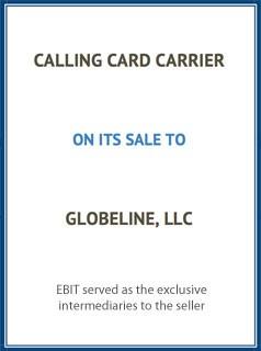 EBIT Associates - Sell My Business - Calling Card Carrier