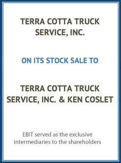 EBIT Associates - Sell My Business - Terra Cotta Truck Service Inc.