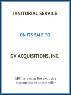 EBIT Associates - Sell My Business - Janitorial Service