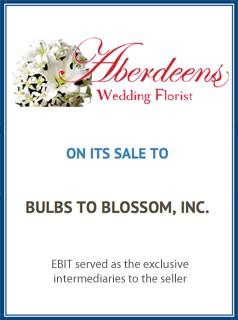 EBIT Associates - Sell My Business - Aberdeens Wedding Florist