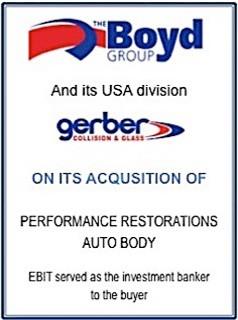 EBIT Associates - Sell My Business - Boyd Gerber