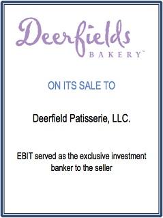 EBIT Associates - Sell My Business - Deerfields Bakery